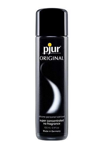 pjur ORIGINAL - Premium Silikon-Gleitgel - lange Gleitfähigkeit ohne zu kleben - sehr ergiebig und für Kondome geeignet - 1er Pack (1 x 100 ml)