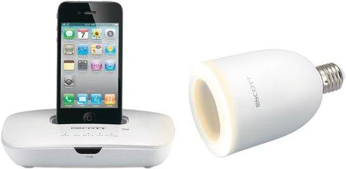 Scott i-DXS 10 L Luminor Dockingstation für Apple iPod/iPhone Ipod Shuffle Docking-system