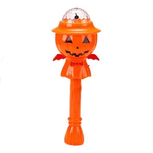 Partiss Kuerbis Halloween Lichterketten Halloween Licht Projektion Lampe Halloween Dekoration Flashing Decor LED Lanterne Fuer Kinder,one Size 1 (1, one Size)