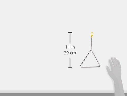 """Stagg TRI-6 Triangle de percussion avec Beater 6""""/15 cm Argenté"""