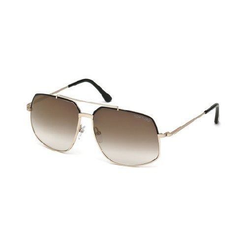 Tom Ford Damen FT0439 6001G Sonnenbrille, Gold, 60