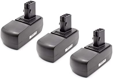 Vhbw Vhbw Vhbw 3x NiMH batteria 1500mAh (18V) per strumenti attrezzi utensili da lavoro come Metabo 6.25484 | prezzo di vendita  | Grande vendita  | Aspetto Attraente  3ea38f