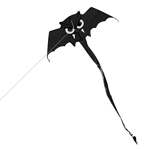 Walmeck- Niedlicher Fledermaus-Drachen für Kinder und Erwachsene Outdoor Sport Single Line Flying Kite mit 30m - Fledermaus Augen Kostüm