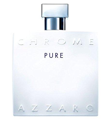 AZZAR0 Ch rome Pure Eau de Toilette Fur Herren 100 ml Neu im Verpackung Neu 2017
