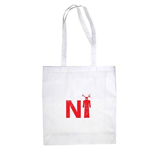 Stofftasche Beutel Weiß say Knights Ni who H8wqqgPtB