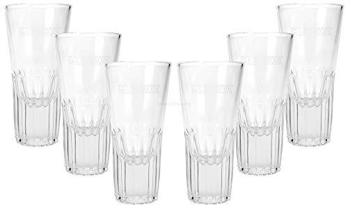 6 x Metaxa Glas Gläser Weinbrand Brandy Selten Gastro Bar Deko + Flaschenausgiesser