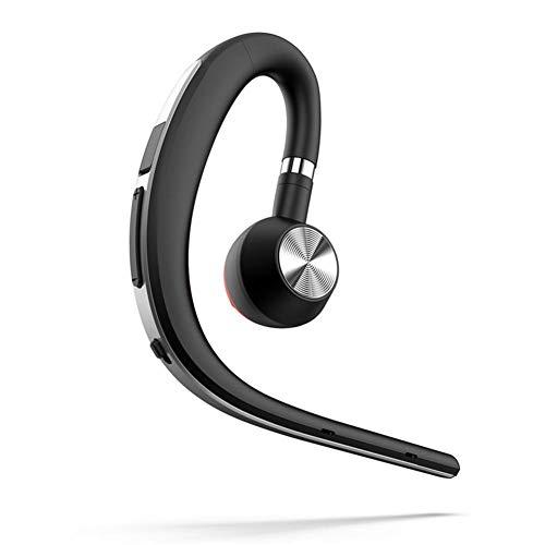 iBaste top Casque Casque avec Conduction Osseuse Business Earhook Headphone  Wireless Sport BT Headset avec Suppression du 4c747644c66e