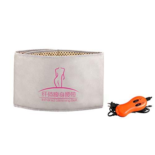 Cinturón Electroestimulador Massager eléctrico de la vibración de la cintura, vibración que adelgaza la máquina, masaje de la calefacción Correa caliente de la compresa Aparatos para la pérdida de pes