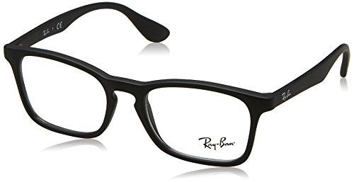 Ray-Ban Unisex-Kinder 0RY 1553 3615 46 Brillengestelle, Schwarz (Rubber Black),
