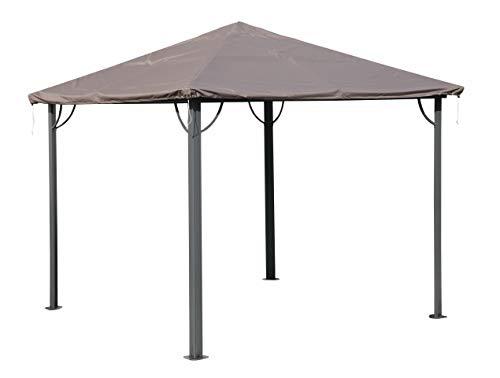 QUICK STAR Pavillondach Schutzhülle Wasserdicht 3x3m für Stoff und Hardtop Pavillon Ersatzdach Partyzelt Abdeckung