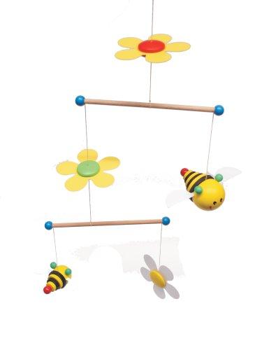 Niermann-Standby 3405 - Mini Mobilie Sum Sum - Mobile mit Bienchen und Blüten