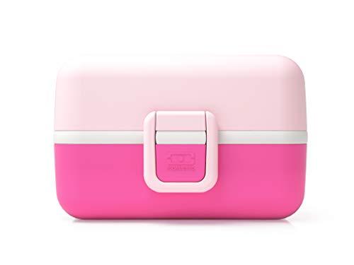 monbento Tresor Lunchbox, Kunststoff, Litchi, 16 x 9,2 x 10,4 cm (Aus Lunch-box Kunststoff)