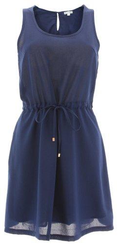 Il dell'abito TULUM DRESS blu navy
