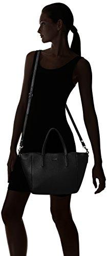 Joop Damen Nature Grain Helena Handbag Mhz Henkeltasche, 14x23x40 cm Schwarz (Black)
