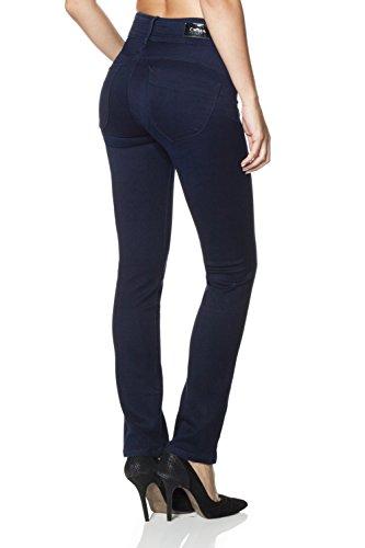 Salsa - Jeans Push In Secret, in Denim Soft Touch, Röhrenjeans - Damen Blau