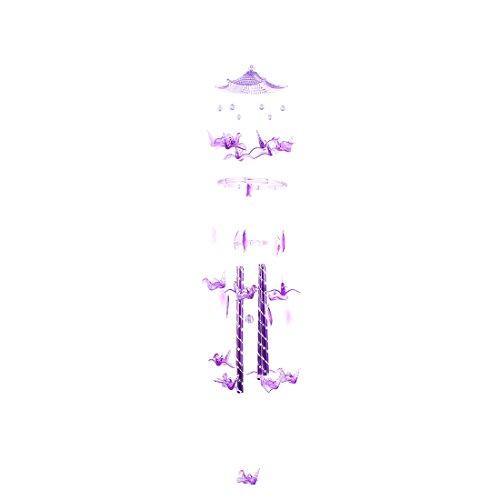 Sourcingmap Cadeaux Vacances Papercranes Perles Plastique Design Pendentif Magnard Purple