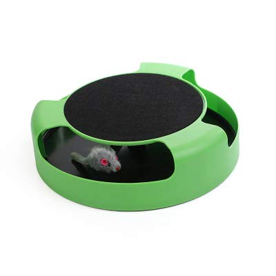ZHLU PET Cat Sports Chase Toy Claw Care Mobile Game Scratch Pad (Mobile Chase)