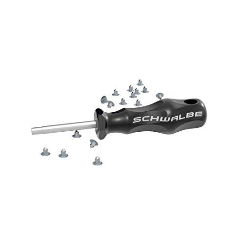Schwalbe Fahrradzubehör Set Spikes (50 Ersatzspikes) mit Werkzeug, 5512