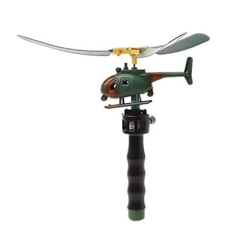 Ziehen Sie Schnur-Griff-pädagogische Hubschrauber-lustiges Draußen Spielwaren-Geschenk Für Kinder