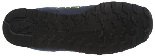 New Balance Herren Md_wd373v1 Sneakers Blau (Blue/Yellow)