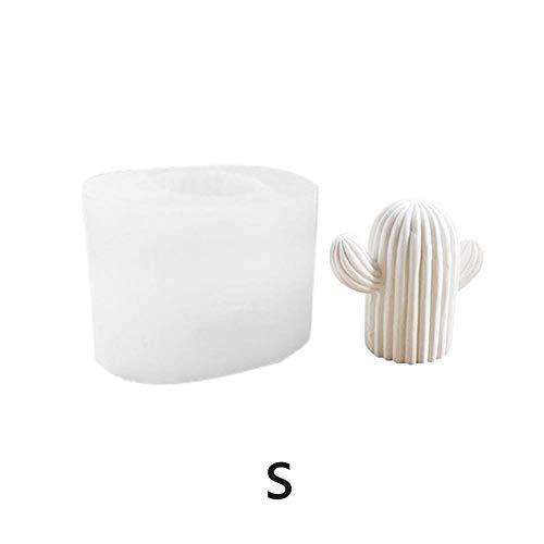 favourall silikonform seife Fondant Muschel Seifenform, 3D Kaktus-Silikonform Silikon Molds, handgemachte Silikon, DIY, für Kuchen, EIS, Torten, Muffins, Kerzen, Seifen, Mousses