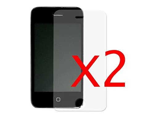 BONAMART ® New Brand Zubehörpaket:2 Sets Screen Protector Film Cover Guard for iPhone 3g 3G 3GS