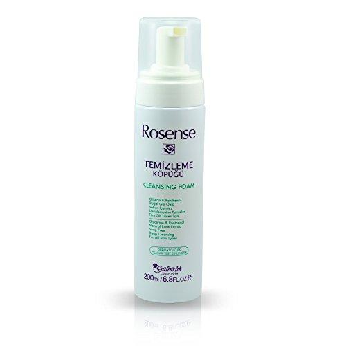 Gesicht-schaum Seife (Rosense Reinigungsschaum für Gesicht ohne Seife, 1er Pack (1 x 200 ml))
