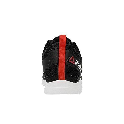 Reebok Dashhex Tr, Baskets Basses Homme Noir - Negro  (Black / Riot Red / White)