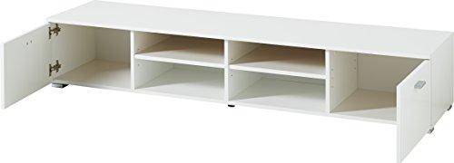 Germania 3666-84 Lowboard Holz, weiß - 2