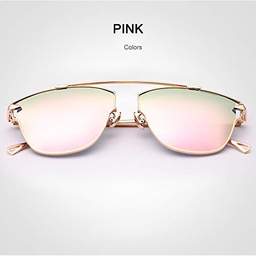 GXM-FR Sonnenbrillen, Fashion Polarized UV40 Fahrschutzbrille, Ladies Outdoor, Driving, Cycling, Street Shooting Glasses,b