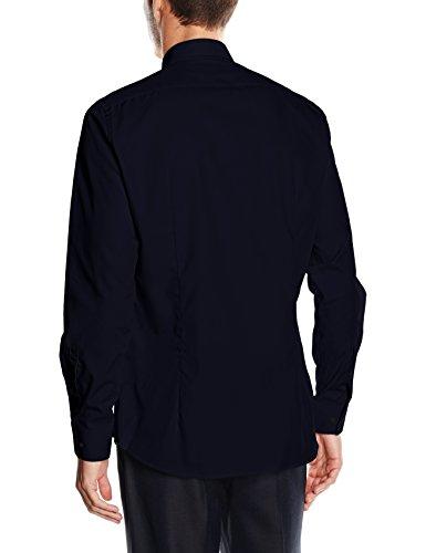 Strellson Herren Businesshemd Blau (Navy 410)