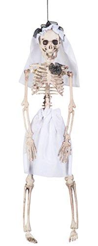 Boland 72089 - Deko-Figur Skelett Braut, Sonstige Spielwaren