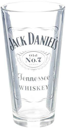 Jack Daniels Limited Barware 5282 Etiketten-Mixglas, 528 ml, transparent