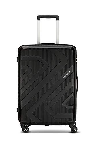 Kamiliant by American Tourister KAM Kiza Polypropylene 68 cms Black Hardsided Check-in Luggage (KAM KIZA SP 68CM - Black)