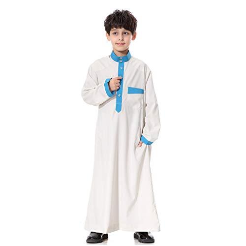Muslimisches Kostüm, Modaworld Jugend Robe Junge Langer Rock Mittlerer Osten Bereich Langer Rock der Männer