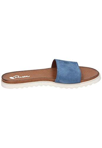 Piazza Piazza Damen Pantolette, Mules pour Femme Bleu