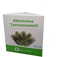 Sibirisches Tannennadelöl, Abies sibirica, 50ml, bekämpft Viren und Bakterien, verbessert Durchblutung, erwärmt preisvergleich bei billige-tabletten.eu