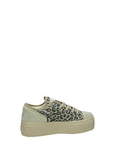 Guess Sneaker Damen Brunilda Active Glitter Hintergrund Cm 3 Lady Natural