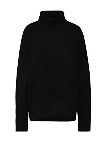 Lou Lou Damen Pullover (EDITED Damen Pullover Lou schwarz 40 (L))
