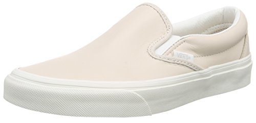 Vans Classic Slip-On, Unisex Adults' Low-Top Trainers, Pink (Leather/Whispering Pink/Blanc de Blanc), 7 UK Vans Classic Slip-On, Unisex Adults' Low-Top Trainers, Pink (Leather/Whispering Pink/Blanc de Blanc), 7 UK 31XDzwiG04L