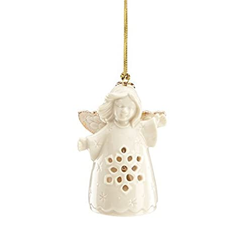 Lenox Angel Wishes Snowflake Bell Ornament by Lenox