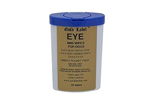 Canine Eye Wipes, Gold Label, Non Sting Dog Eye Wipes,