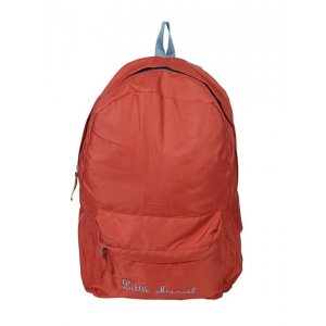 Little marcel-Zaino in tela h121af612 doubleface, colore: rosso