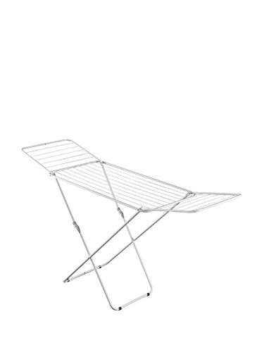 Metaltex Vulcano - Tendedero epoxi con alas, 18 metros de tendido