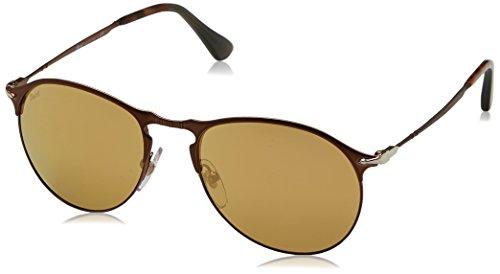 Persol Herren 0Po7649S 1072W4 56 Sonnenbrille, Braun Brown