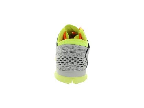 Nike Free 5.0, Chaussures de Running Femme Gris (black red violet-atomic orange)