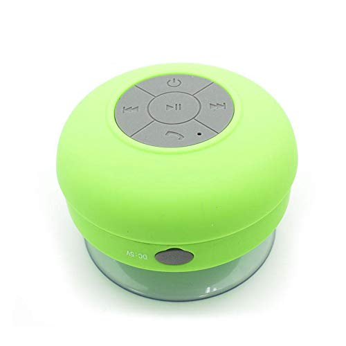 Altavoz Bluetooth Acuático Impermeable portátil con Ventosa para Duc