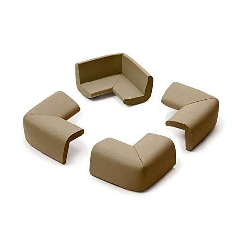 4 petits coins en mousse antichoc chocolat - Prince Lionheart