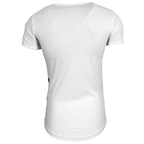 HERREN T-Shirts TShirt NEU Größe S M L M XL XXL RUNDHALS KURZARM Regular RN15105 Weiß