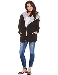 Be! Mama - 3in1 Übergangsjacke - normale Jacke / Umstandsjacke / Stilljacke! Wendejacke, hochwertige Baumwolle und Verarbeitung, Modell: OMAN